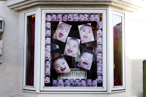 ワッフルさん窓の写真